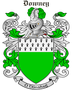 DOWNEY family crest