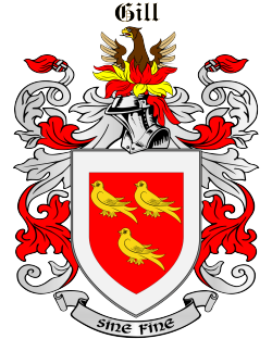 GILL family crest