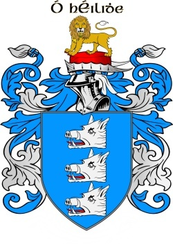 HEALY family crest