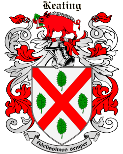 KEATING family crest