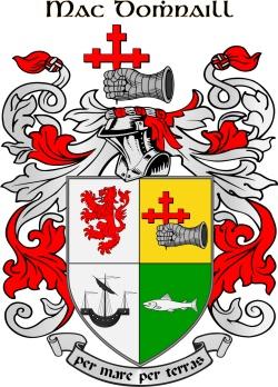 MCDONALD family crest