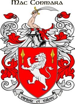 MCNAMARA family crest