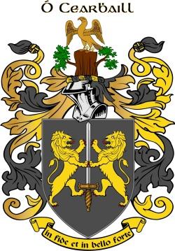 O'carroll family crest