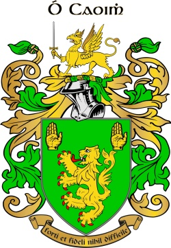 O'KEEFFE family crest