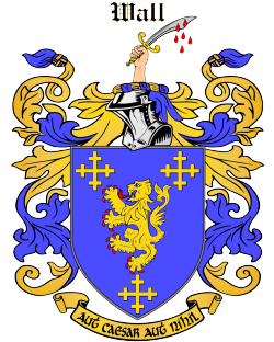 WALL family crest
